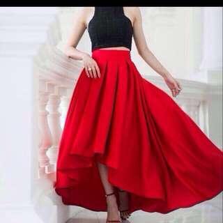 🚚 VGY Asymmetrical Skirt