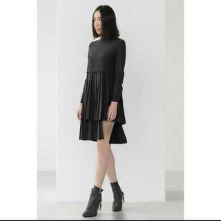 🚚 Everyday People Two-Phased Pleated Dress