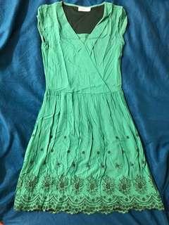 Pd & Co. Green Dress