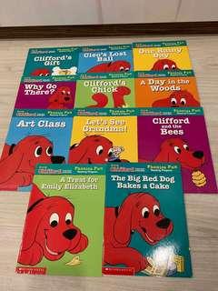 Clifford the big red dog x11