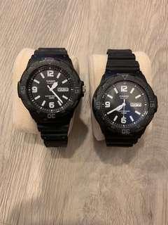🚚 Couple Seiko watch
