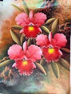 Bali Orchid Painting