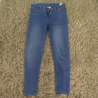 Celana Jeans Wanita light blue