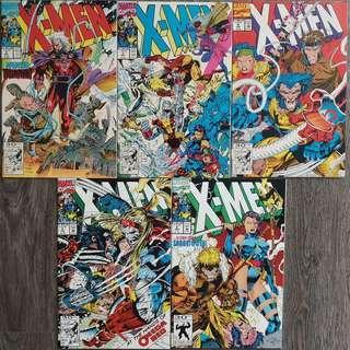 X-Men Comics (Jim Lee series)