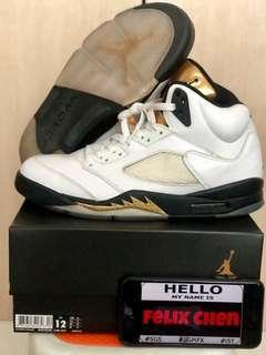buy online bd5c5 ae691 jordan retro 5   Sneakers   Carousell Singapore