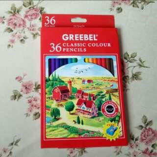 Pensil Warna Greebel Isi 36
