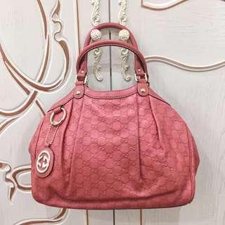 Authentic Gucci sukey handbag
