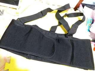 孕婦護腰護肚肩帶式護腰帶/腰封