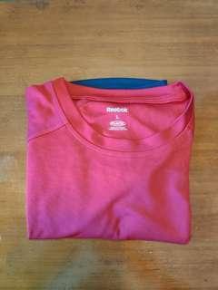 Reebok Play Dry Red Shirt
