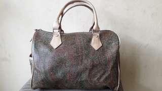 Tas Speedy Bekas full kulit motif batik