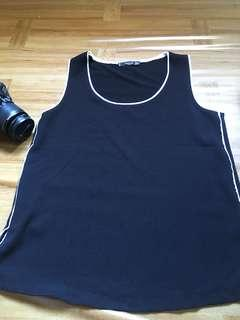 Mango authentic black sleeveless #SparkJoyChallenge