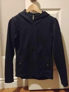 Bench Sweater Zip-up Hoodie (Size small)