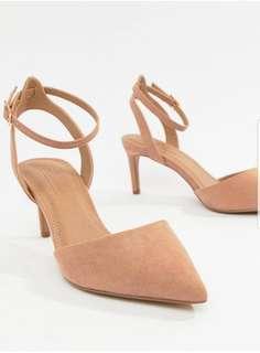 ASOS 米色高踭鞋
