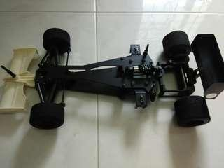 Carbon Cross 1/10 F1 Chassis
