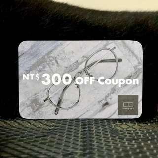 OWNDAYS 日系眼鏡 300元折價券 抵用券