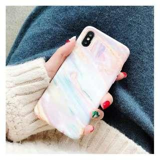 🚚 [preorder] iphone xs max xr marble pink case casing cover