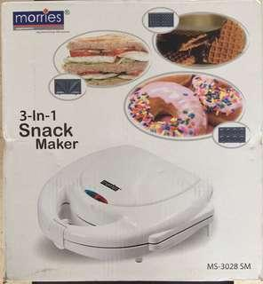 Morries 3-in-1 Sandwich Maker