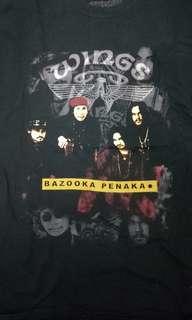 Baju WINGS - bazooka penaka