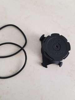 🚚 Quadlock black with 2 rubber
