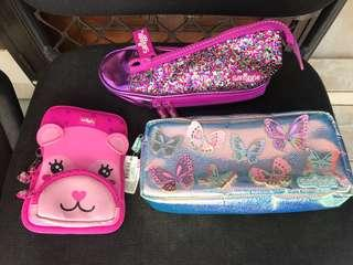 Smiggle Pencil Case and phone case take all (3 items)