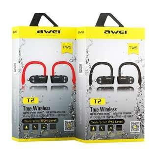 AWEI T2 真無線藍牙運動耳機