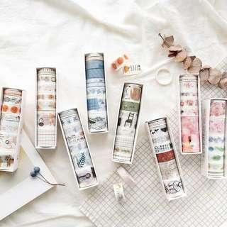 🚚 [PO] set of 8 washi tapes