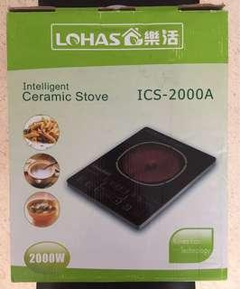 Portable electric ceramic stove
