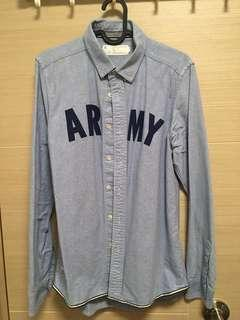 Chocoolate shirt army vintage polo sale