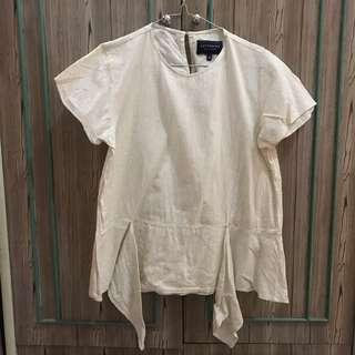 Cotton Ink Off White Blouse