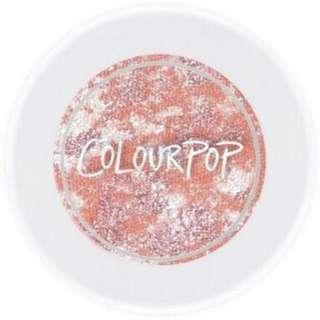 Colourpop tie dye super shock shadow in rip tide 😂