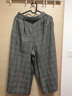 灰色闊腳褲 pants from Japan Zara H&M