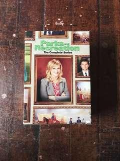 Parks and Recreation Complete DVD