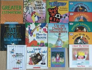 Children English Books - 23 pcs #SparkJoyChallenge