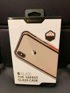 🚚 iPhone X /XS 金屬邊框玻璃殼