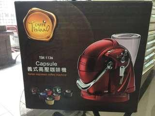 Capsule 義式高壓咖啡機 tsk-1136