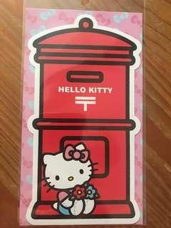 Sanrio 日本hello kitty 郵筒明信片(包郵)