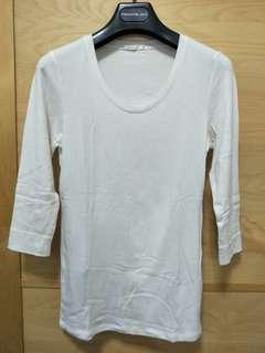 (M)lativ 棉質七分袖上衣-M號