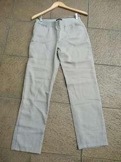 Celana abu2 soft
