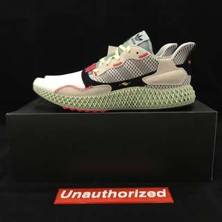 separation shoes 7a62e e8a61 adidas Consortium ZX4000 Futurecraft 4D