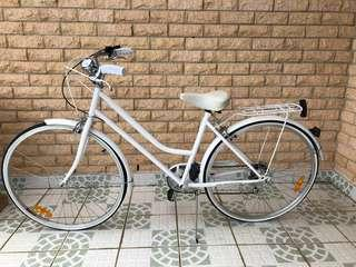 White Ladies Vintage bike
