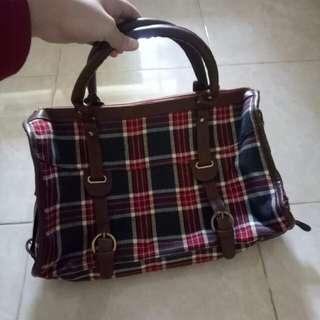 Vintage Mini Travel Bag