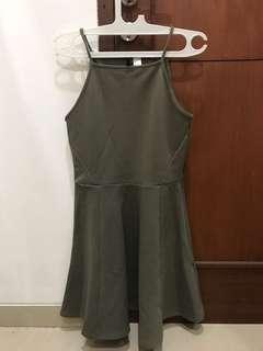 H&M army dress