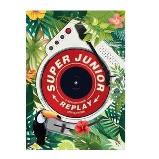 Super Junior REPLAY Vol. 8th repackage album ( special edition )
