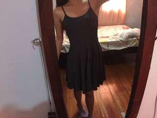 Flattering Gray Casual Dress