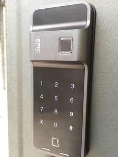 🚚 EPIC F300D 指紋鎖密碼鎖感應鎖