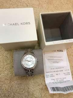 Authentic new Michael Kors Watch with receipt mk