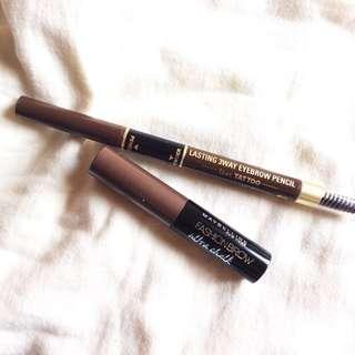 [Set of 2] Maybelline & K-Palette Brow Products.