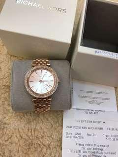 New Michael Kors Watch Authentic with receipt