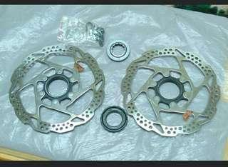 Shimano rotor / Center Lock 160mm