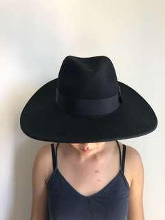 ZARA Black Fedora Hat